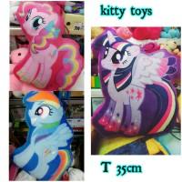 mainan anak figure boneka bantal guling my little pony