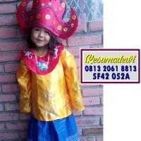 Lampung PAUD-TK | Baju Adat Karnaval Kostum Tari Anak Wanita Tradisi
