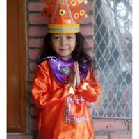 Tapanuli PAUD-TK | Baju Adat Karnaval Kostum Tari Anak Tradisional