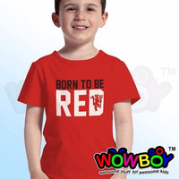 Kaos Anak T-shirt Manchester United Born to be RED (baby-5th)