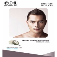 [ HAIR WAX / POMADE ] Fix Professional CLAY DOH 25gram ORIGINAL 100%