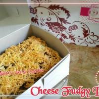 Minipack Cheese Fudgy Brownies