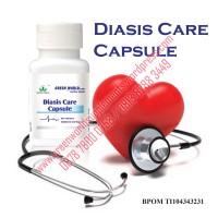 Obat Herbal Darah Tinggi Diasis Care Capsule Green World