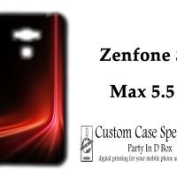Asus Zenfone 3 Max 5.5 Custom Case Red Laser