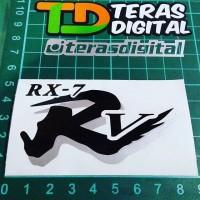 Cutting Sticker helm Arai RX7-RR5