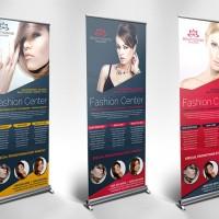 roll up banner uk.80 x 200 cm (bahan easy banner pvc film)