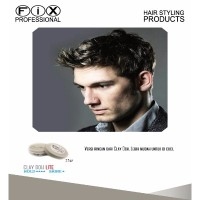 [ HAIR WAX / POMADE ] Fix Professional CLAY DOH LITE 25gram ORIGINAL