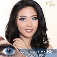 ORIGINAL Softlens Avenue Fx Blue Biru Soflens softlense