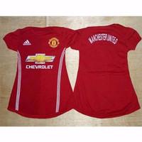 MU Home - Dress Baju Bola Bayi Jersey Anak Perempuan
