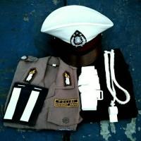 Baju Setelan Polisi Anak / Seragam Polisi Anak / Baju Polisi Anak