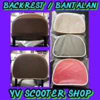 Aksesoris Vespa Bantalan Back Rack/ Backrest