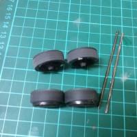 Mini 4WD Ban Tamiya Profile / bubut Type 3 STO Jap
