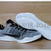 Sepatu Basket Nike Kobe XI Flyknit Oreo