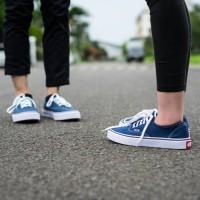 sepatu vans authentic navy/biru dongker TERMURAH!(sepatu jalan murah)