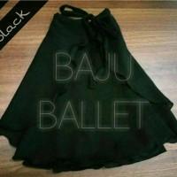 Rok ballet sifon /chiffon skirt karet dewasa size XXXL+ (panjang 50cm)