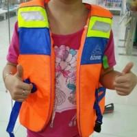 Baju Rompi Pelampung Ukuran S / Life Jacket Renang Anak Atunas
