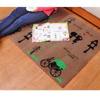 karpet, keset kaki, tikar, tatakan lantai, keset kaki bahan beludru