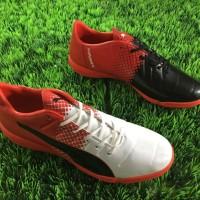 sepatu futsal puma evopower trick hitam putih ic grade ori import