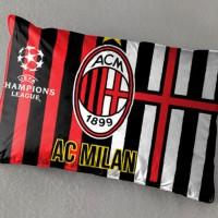 Balmut (Bantal Selimut) ILONA AC Milan / sprei bedcover jersey bantal