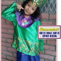 Bangka Belitung PAUD-TK | Baju Adat Karnaval Kostum Tari Anak Tradisi