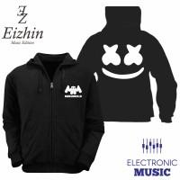 Jaket Marshmello Hitam Eizhin Edm Music Edition