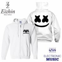 Jaket Marshmello Putih Eizhin Edm Music Edition
