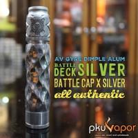 Authentic AV Gyre Dimple Alum with Battle Deck & Battle Cap Silver