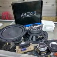 speaker 2 way avexis fu6s / fu 6s , sb acoustics sb65 sb 65