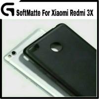 Xiaomi Redmi 3X Soft Matte / Doft Slim Case Slilicone Back Cover