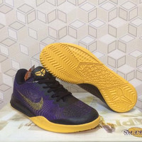 Sepatu Basket Nike Kobe Mentality II (2) purple yellow lakers