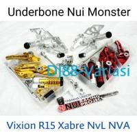 Footstep Underbone Nui Monster Yamaha R15 Xabre New Vixion Lightning N