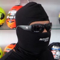 Mask Balaclava Black Masker Full Bikers Ninja Hitam Arai Nolan AGV