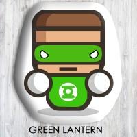 Bantal Boneka Dekorasi Superhero - Large Green Lantern