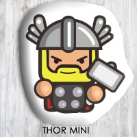 Bantal Boneka Dekorasi Superhero - Large Thor Mini