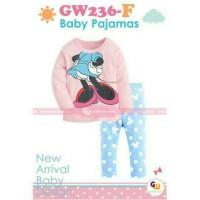 Baby Pajamas GW236 / Baju Tidur Anak Bayi GW 236