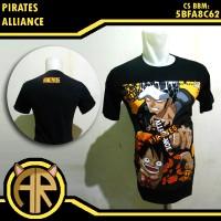 Pirates Alliance Shirt - Kaos Anime One Piece Luffy Trafalgar Law