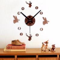 Dekorasi Jam Dinding Klasik Besar DIY 30-60cm Diameter