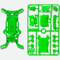 TAMIYA AR CHASSIS SET - FLUORESCENT COLOR GREEN