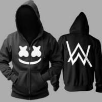 sweater marshmello alan walker/hoodie/jaket/