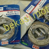kampas rem belakang brake suzuki nex lets address original