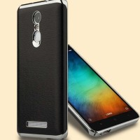 Casing Xiaomi Redmi Note 3 / Pro Back Case Cover Leathe Limited