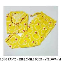 Baju tudur kids smile duck-yellow-M