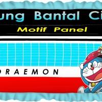 Sarung Bantal / Guling / Bantal Cinta Rivest / Tommony motif Doraemon