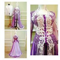 kebaya akad modern / baju nikah cantik / gaun resepsi best seller