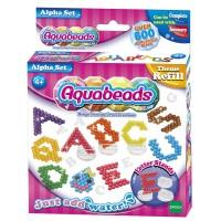 REFILL Aquabeads Alpha Set / beados