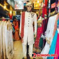 Baju India Sherwani Wedding Cowok Laki Men Pria Murah Import 01