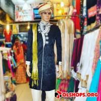 Baju India Sherwani Wedding Cowok Laki Men Pria Murah Import 03