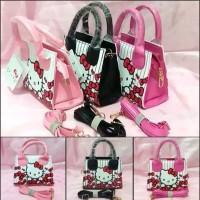 Tas Fashion Pesta Handbag Slingbag Sanrio Hello Kitty
