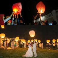 Lampion Terbang Flying Lantern Sky Lentera Kertas Harga Murah Unik Sed