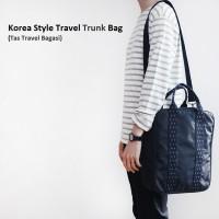 Korea Style Travel Trunk Bag / Tas Selempang / Tas Bagasi